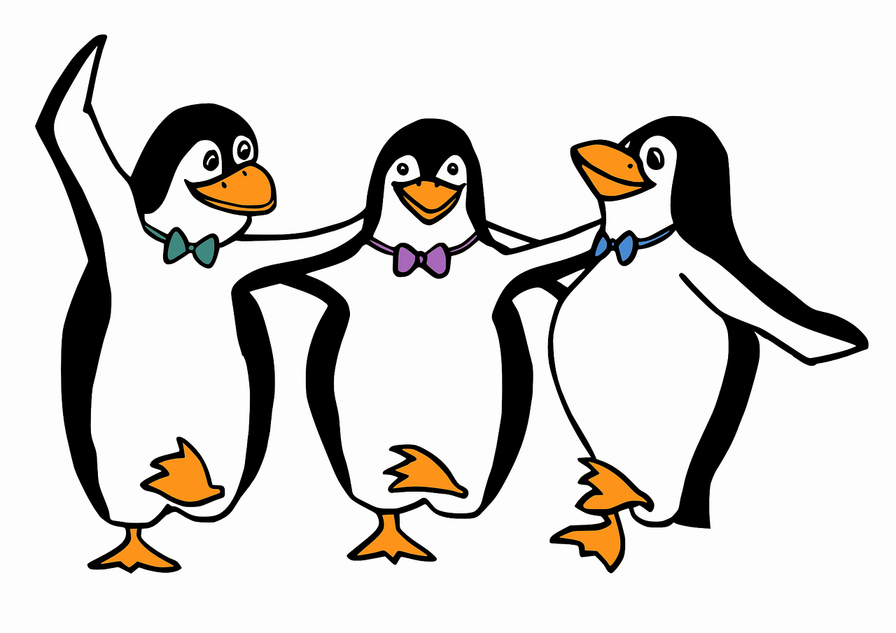 פינגווין חוגג